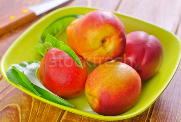 Textura comida verão grupo café da manhã sobremesa Foto stock © tycoon