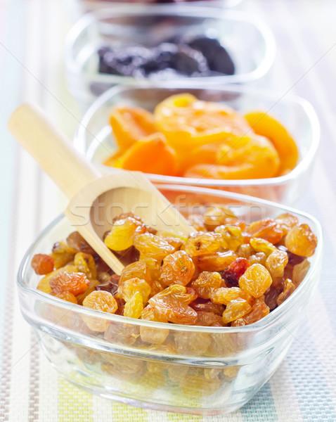сушат изюм даты продовольствие фрукты фон Сток-фото © tycoon