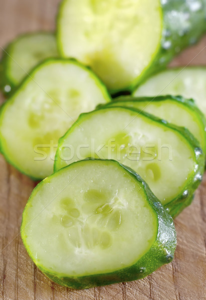 cucumber Stock photo © tycoon