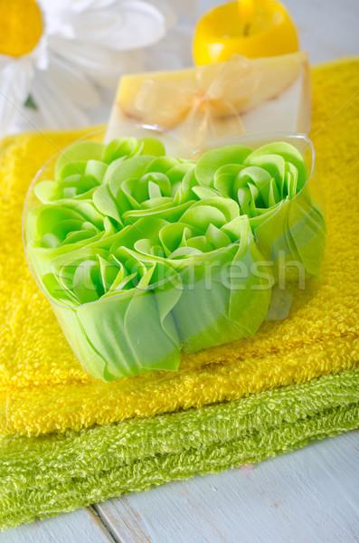 Lezzet sabun doğa ev sağlık güzellik Stok fotoğraf © tycoon
