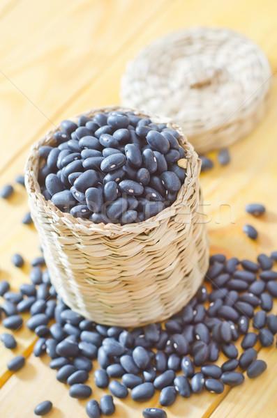 black beans Stock photo © tycoon