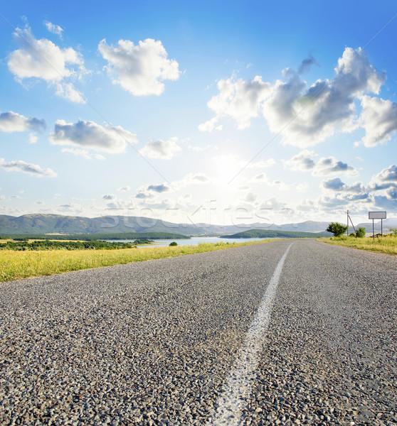 Road in Crimea Stock photo © tycoon