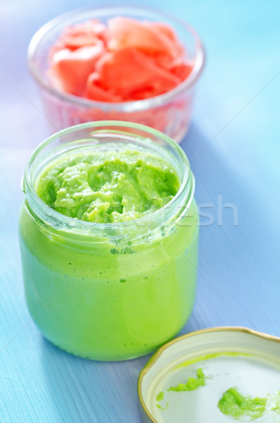 wasabi and ginger Stock photo © tycoon