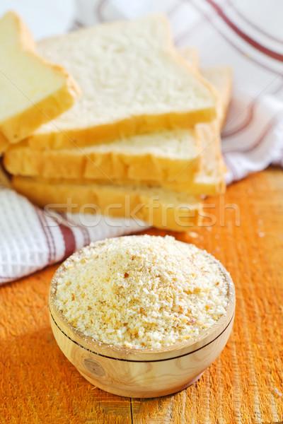 Farinha comida trigo café da manhã branco cozinhar Foto stock © tycoon