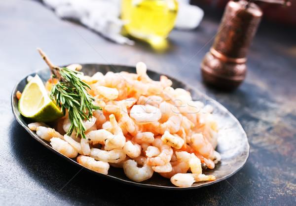 Főtt bors só tányér étel tenger Stock fotó © tycoon