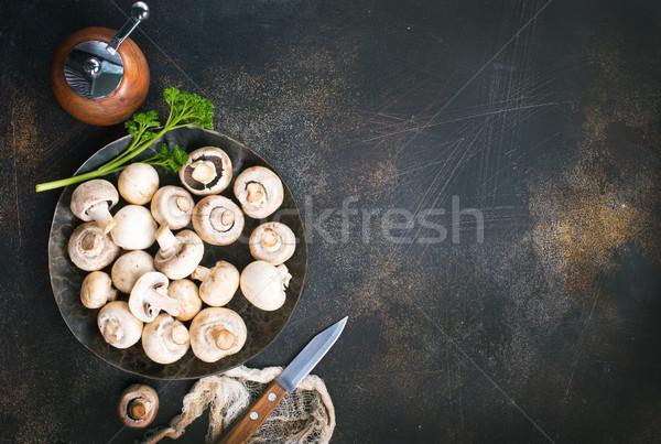 生 キノコ 表 在庫 写真 食品 ストックフォト © tycoon