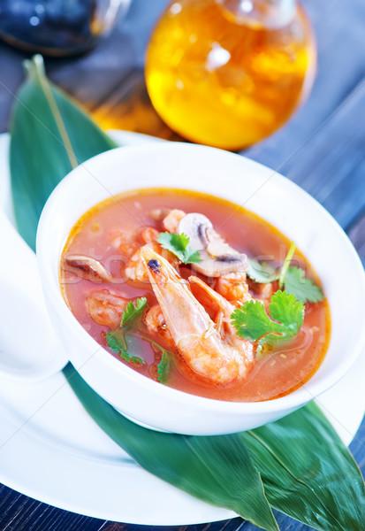 fresh asian soup Stock photo © tycoon