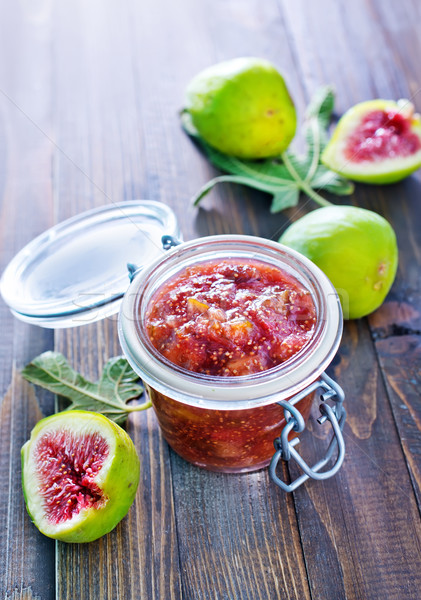 jam from figs Stock photo © tycoon