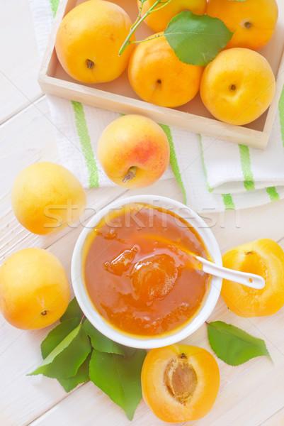 apricot Stock photo © tycoon