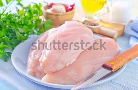 chicken hearts Stock photo © tycoon