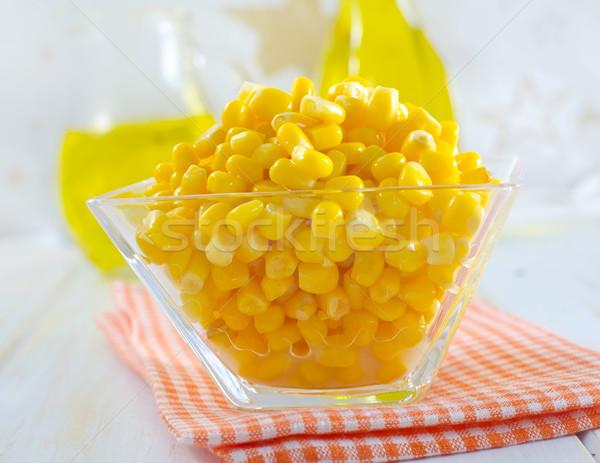 sweet corn for salad Stock photo © tycoon
