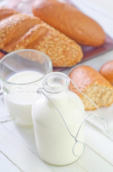 milk in bottle Stock photo © tycoon