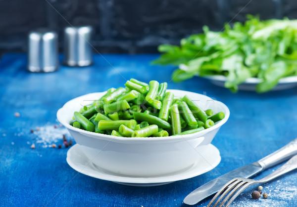 綠豆 碗 表 食品 綠色 喝 商業照片 © tycoon