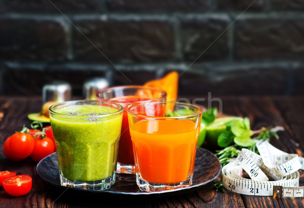 smoothies Stock photo © tycoon
