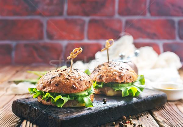 Stock photo: burgers