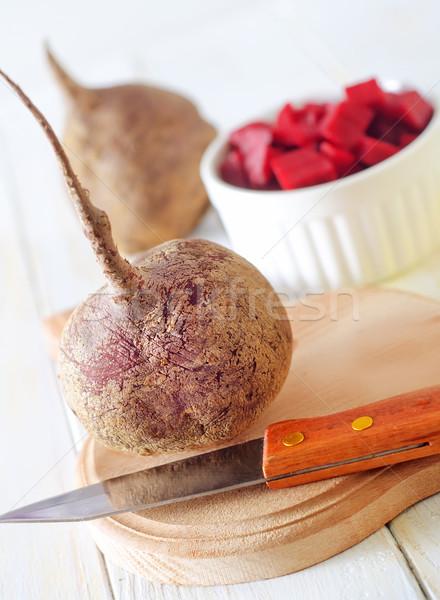 fresh beet Stock photo © tycoon