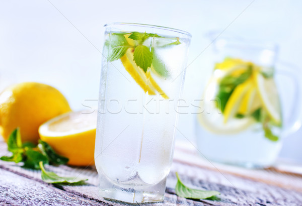 lemonad Stock photo © tycoon
