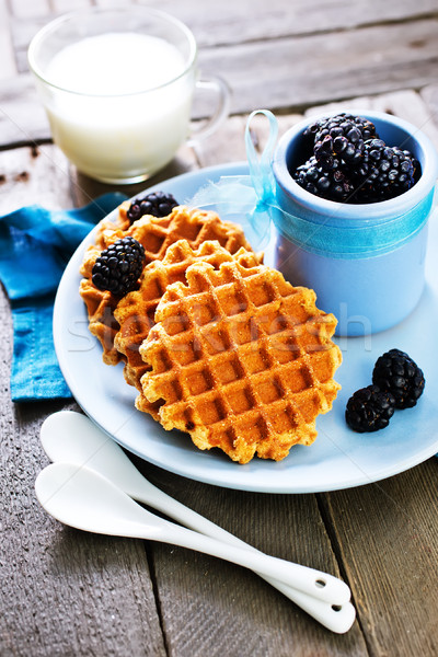 waffles Stock photo © tycoon