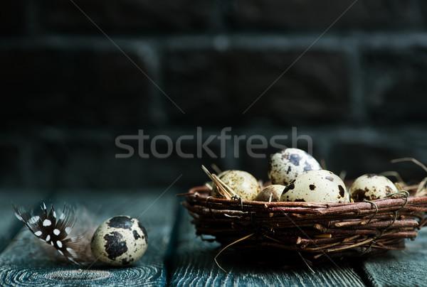 quail eggs Stock photo © tycoon