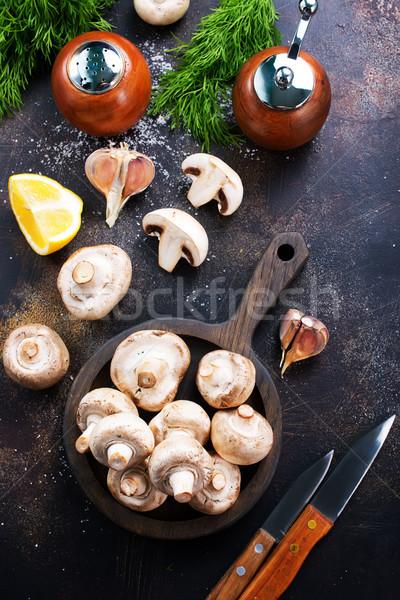 mushrooms Stock photo © tycoon