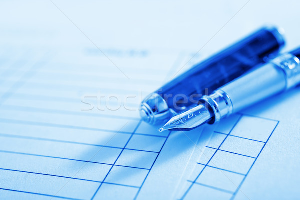 Lápis escritório papel trabalhar corporativo preto Foto stock © tycoon