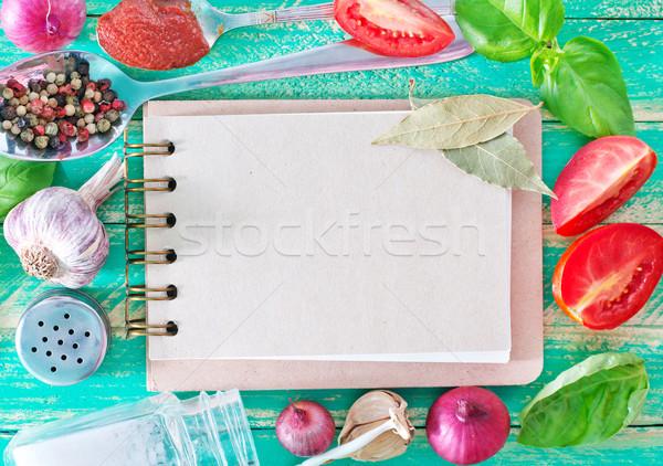スパイス 注記 レシピ ビジネス 食品 自然 ストックフォト © tycoon