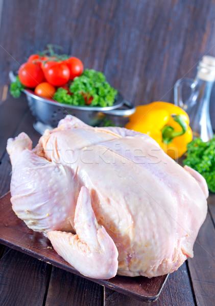 raw chicken Stock photo © tycoon