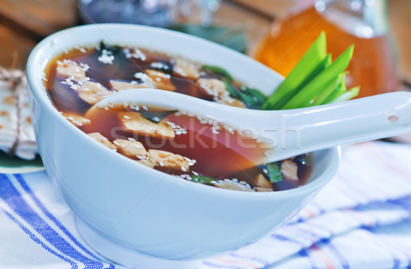 miso soup Stock photo © tycoon