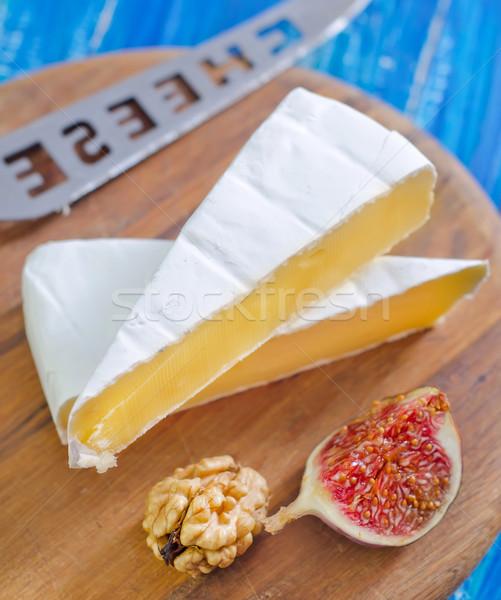 Camembert cross formaggio colazione bianco fresche Foto d'archivio © tycoon