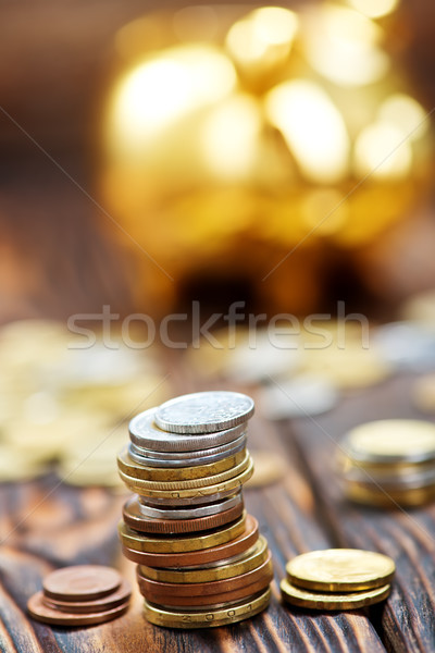 coins Stock photo © tycoon