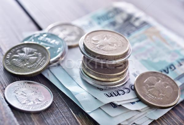 Russo soldi carta aquila timbro bianco Foto d'archivio © tycoon