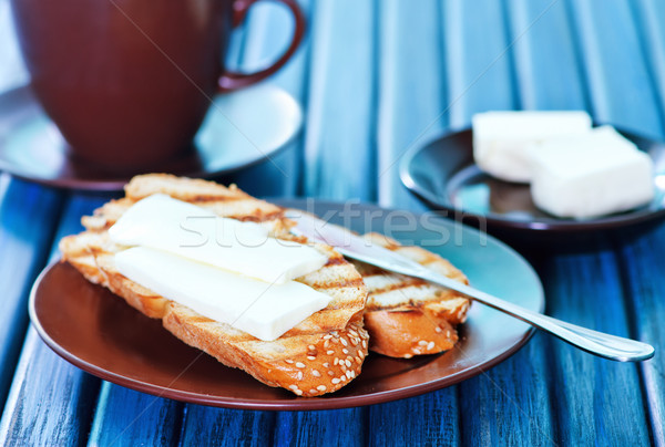 bread with butter Stock photo © tycoon