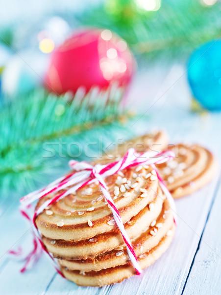 Рождества конфеты филиала рождественская елка дерево Сток-фото © tycoon