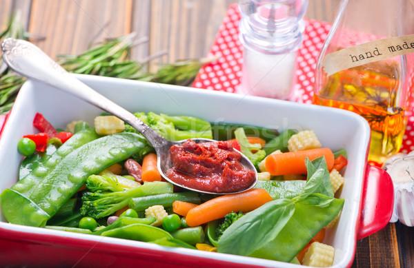 Stock photo: mix vegetables