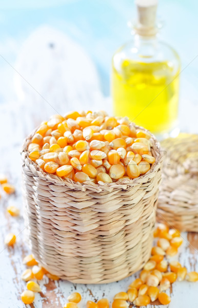 corn and oil Stock photo © tycoon