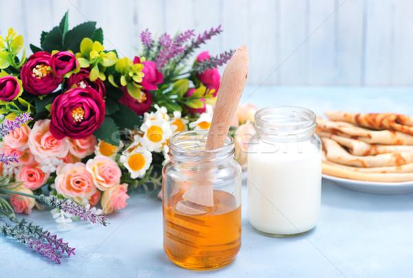 honey and milk Stock photo © tycoon