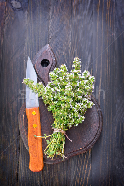 aroma herb Stock photo © tycoon