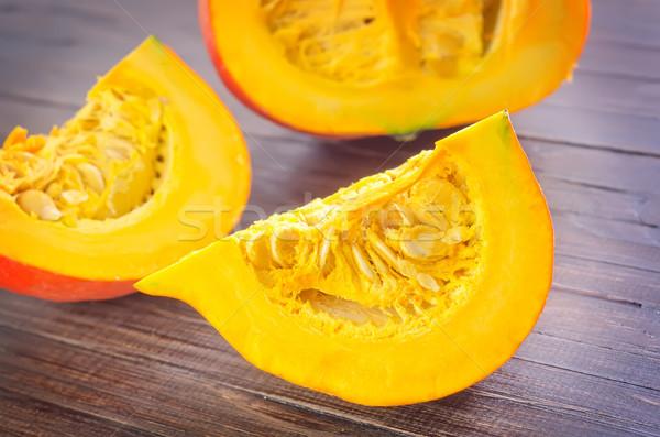 Sütőtök narancs ősz fehér stúdió ősz Stock fotó © tycoon