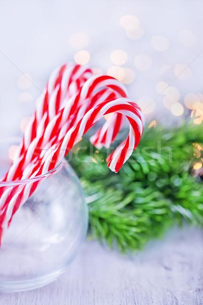 Natale decorazione tavola natura sfondo bellezza Foto d'archivio © tycoon