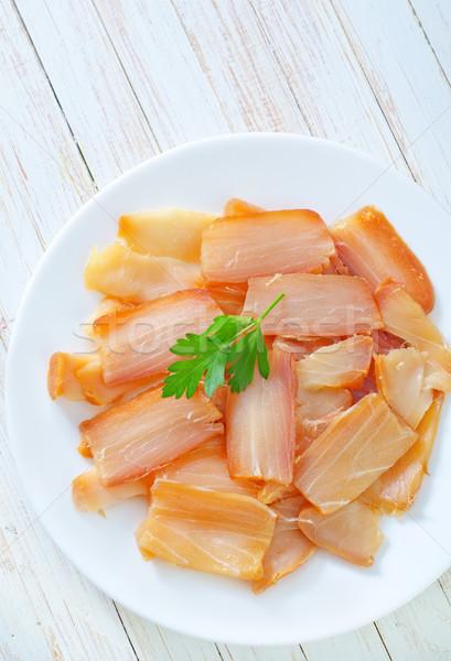 Affumicato pesce verde carne bianco lusso Foto d'archivio © tycoon