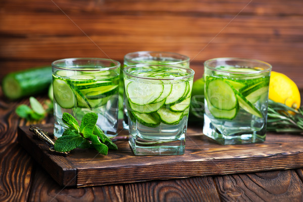cucumber drink Stock photo © tycoon