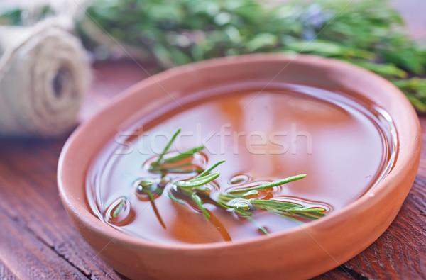 Rosmarijn olie voedsel drinken koken vers Stockfoto © tycoon