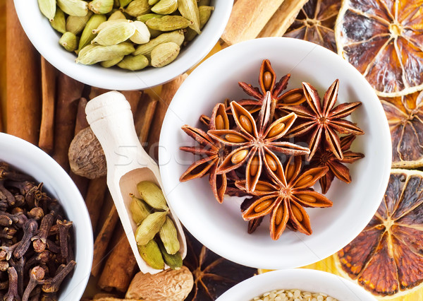 Aroma Spice alimentare natura star vintage Foto d'archivio © tycoon