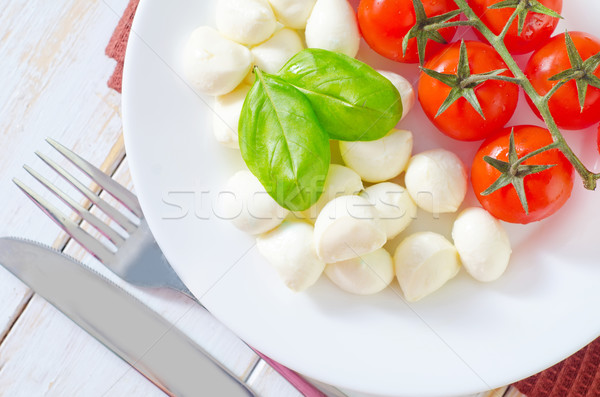 tomato and cheese Stock photo © tycoon