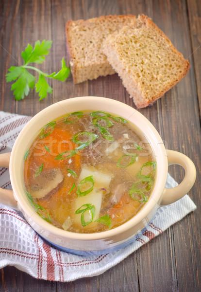 mushroom soup Stock photo © tycoon