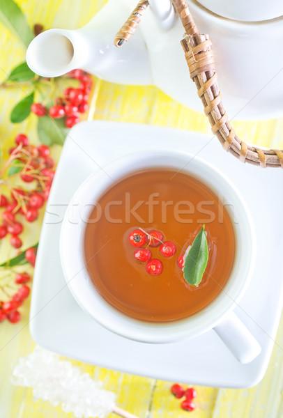 świeże herbaty tabeli wody charakter Zdjęcia stock © tycoon
