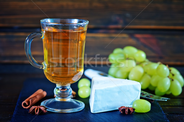 cider and cheese Stock photo © tycoon