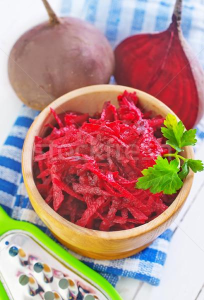 Stockfoto: Salade · gezondheid · keuken · olie · roze · plantaardige