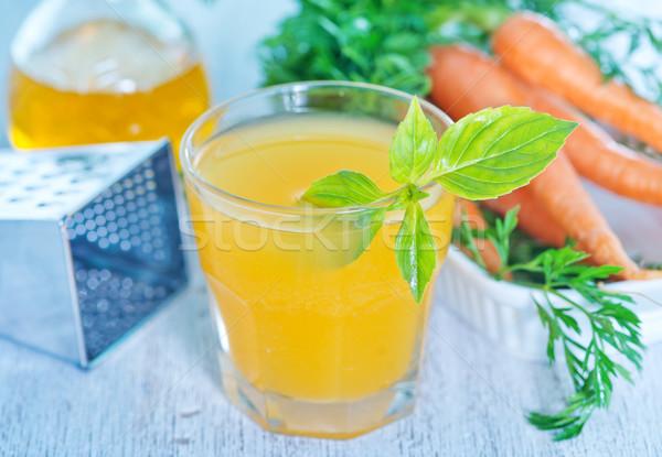 carrot juice Stock photo © tycoon