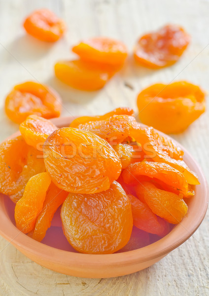 dried apricots Stock photo © tycoon